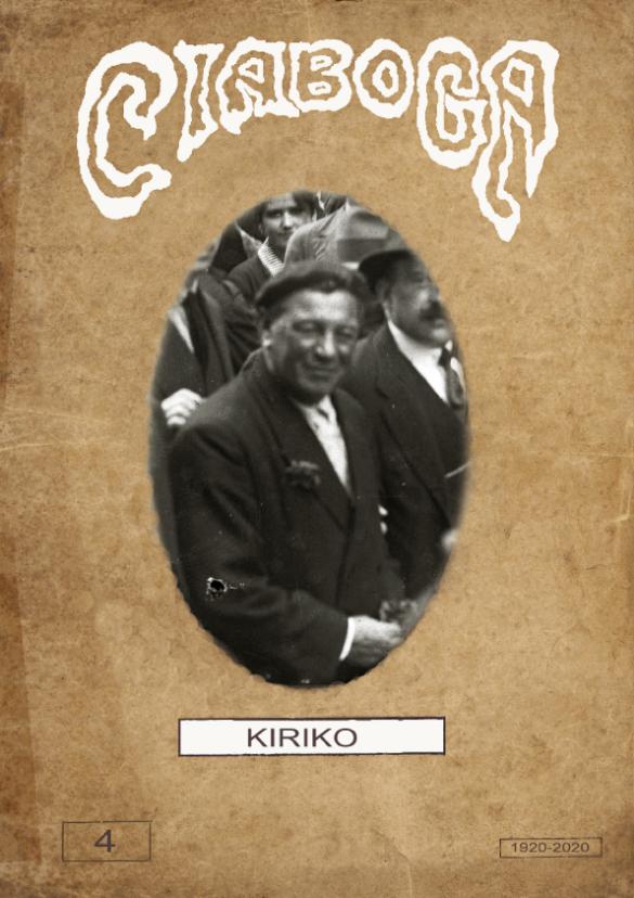 Portada de revista Ciaboga - Kiriko