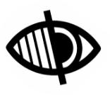 icono de accesibilidad visual