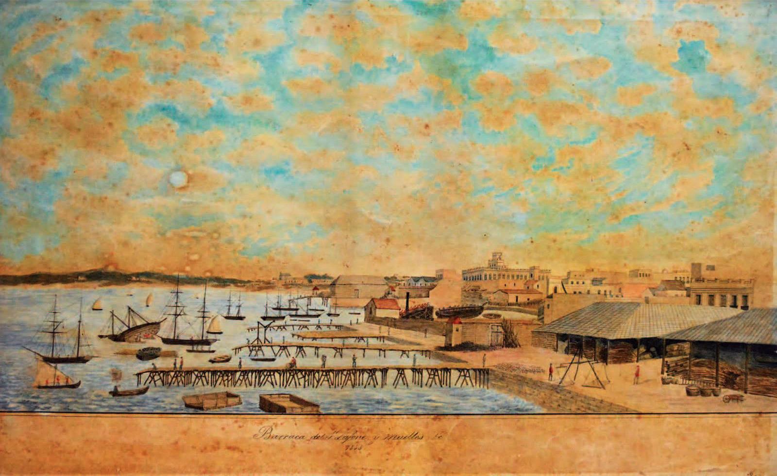 Barraca y Muelles de Samuel Lafone
