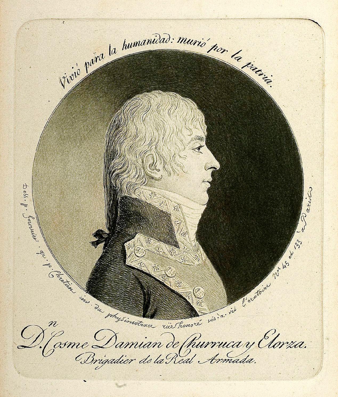 Don Cosme Damián de Churruca y Elorza