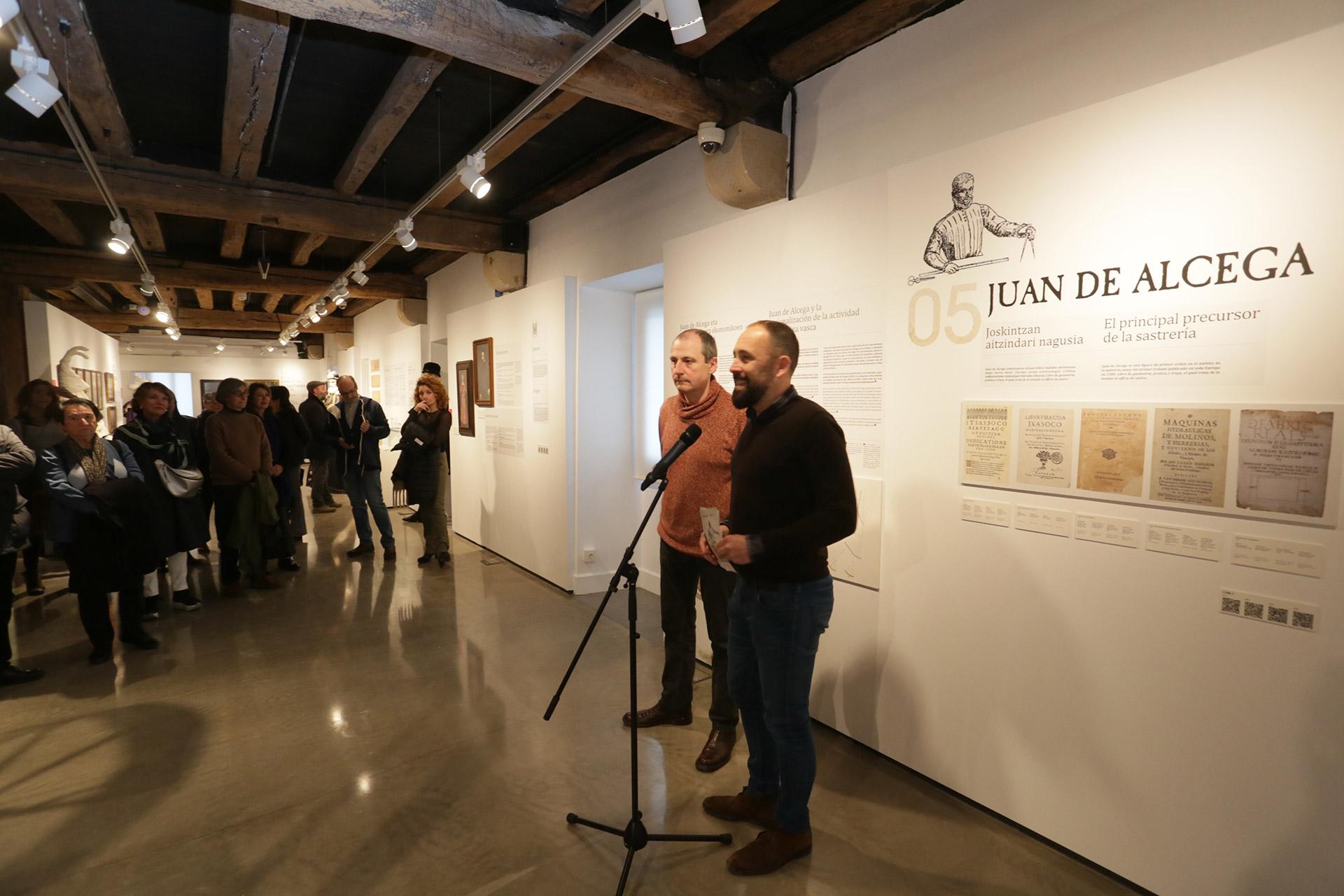 Exposición Juan de Alcega, imagen de galería