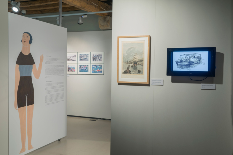 Exposición Las mujers y el mar