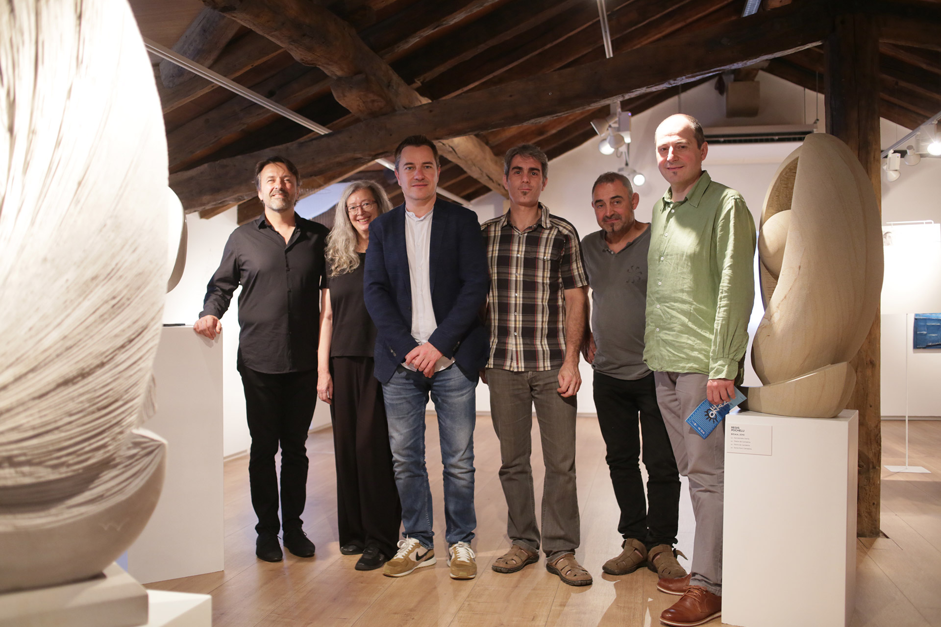 Artistas de exposición Ozeana en Euskal Itsas Museoa