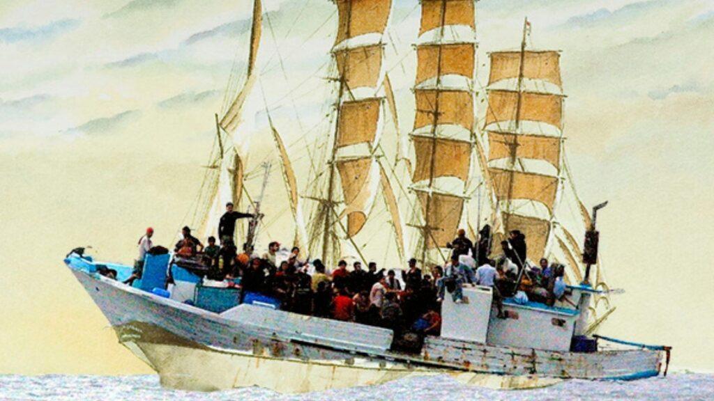 Itsasertzetik migraciones por mar