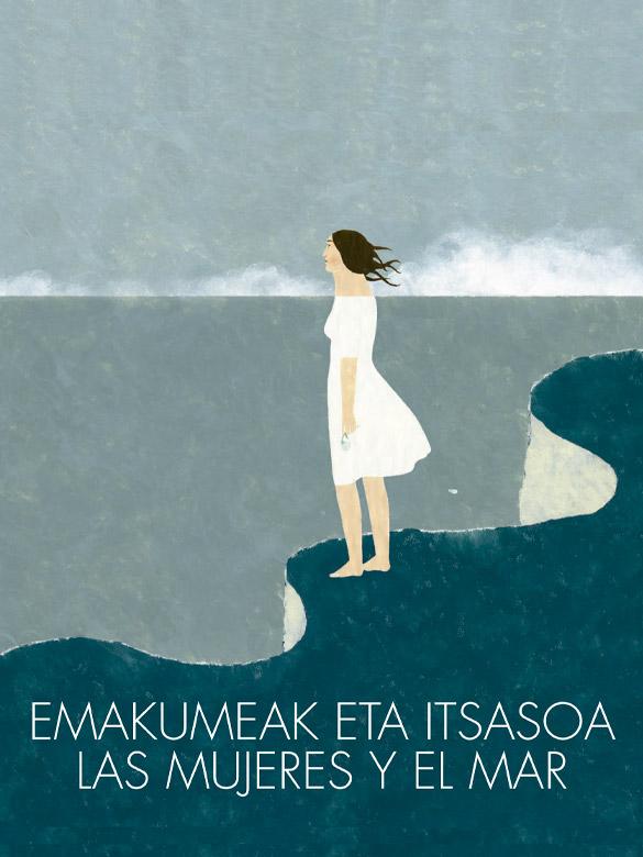 Portada las mujeres y el mar