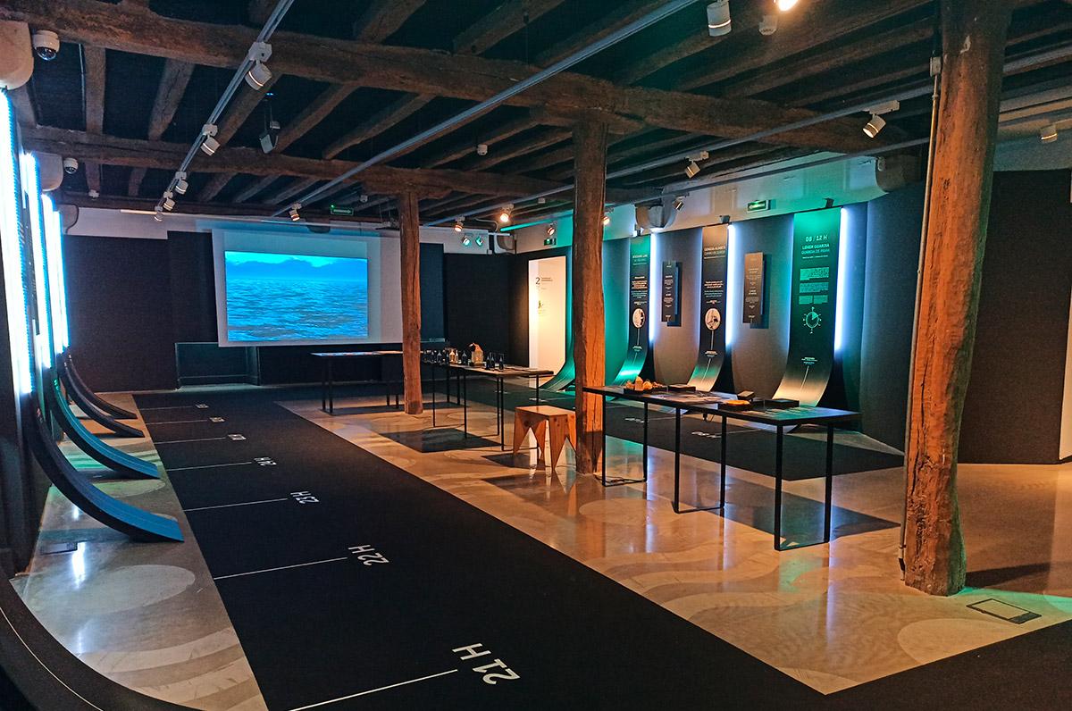 Imágen que muestra artículos expuestos en la Exposición 24H Un día en la Victoria